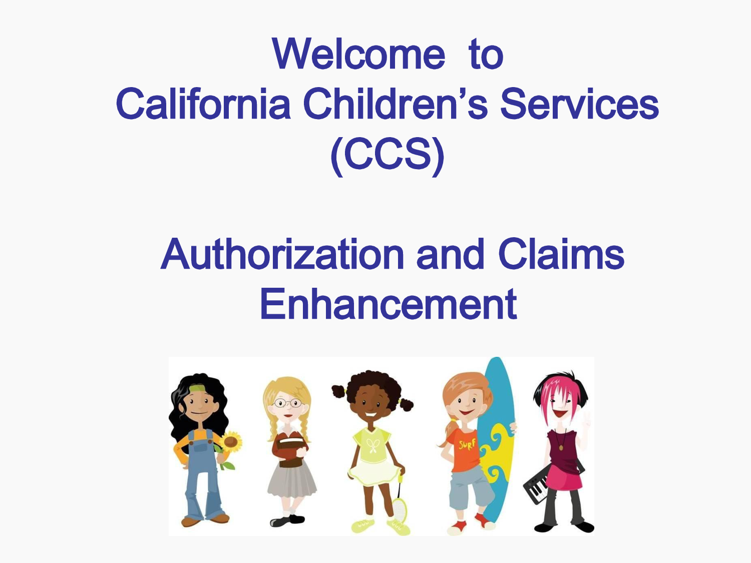 California Chidlren's Services